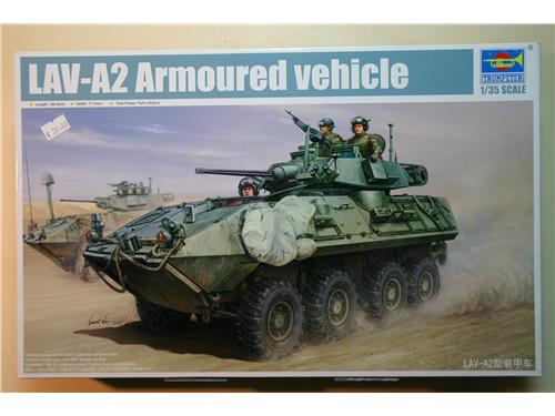 LAV-A2 Armoured vehicle - Modelli Trumpeter