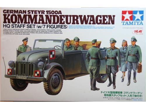 German steyr 1500A Kommandeurwagen - art.25149 - Tamiya 1/35