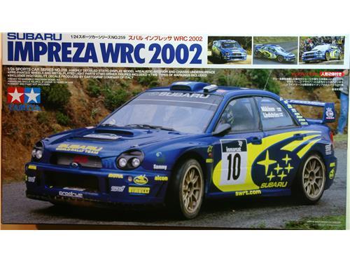 Auto da rally Subaru Impreza WRC 2002 - modelli Tamiya