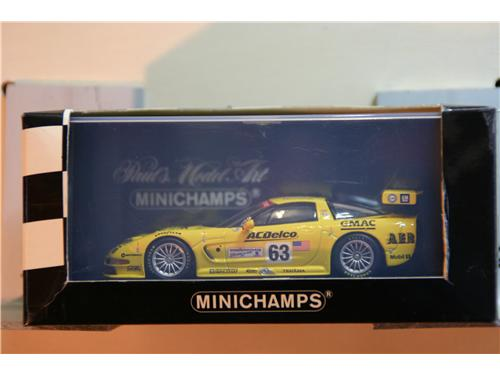 Corvette C5-R GTS Le Mans 24 hrs. 2002 - GTS Class Winners: Gavin/O'Connel/Fellows - modelli Minichamps