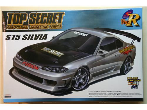 Nissan S15 Silvia Top Secret - Modelli Aoshima