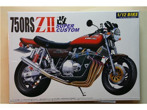 Kawasaki 750RS ZII super custom - Modelli Aoshima