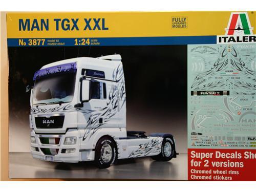 MAN TGX XXL - art. 3877 - modelli Italeri 1/24