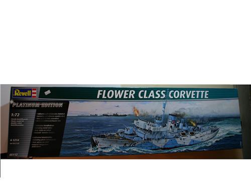 Flower Class Corvette - Platinum edition - modelli Revell