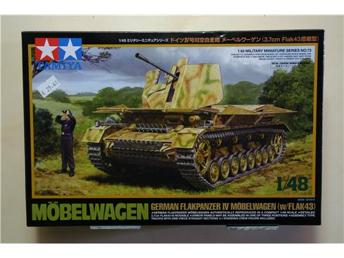 Mobelwagen german flakpanzer IV mobelwagen (w/FLAK43) - modelli Tamiya