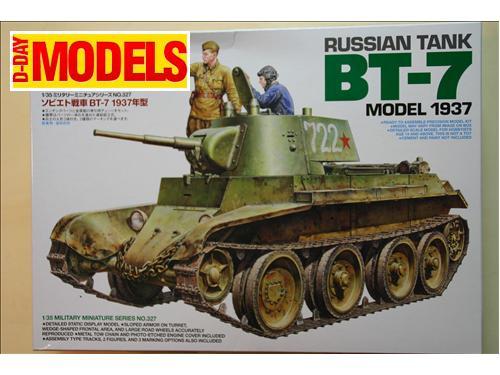 Russian tank BT-7 model 1937 - modelli Tamiya kit 1/35
