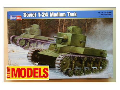Soviet T-24 Medium Tank - modelli Hobby Boss
