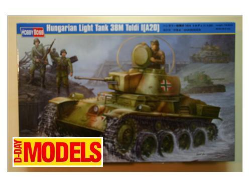 Hungarian light tank 38M Toldi l(A20) - modelli Hobby Boss