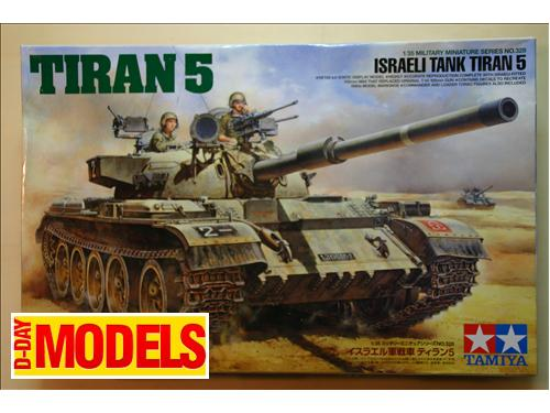 Tiran 5 (israeli tank) - Tamiya kit montaggio carri 1/35