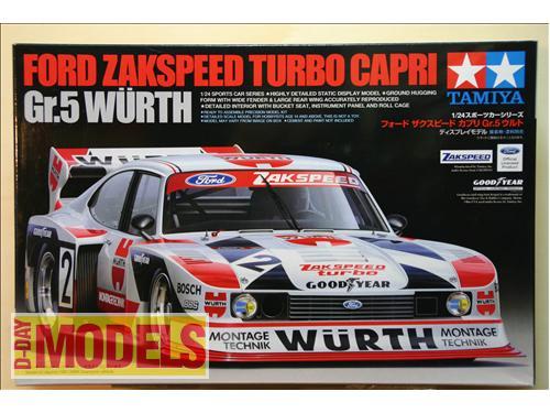Ford Zakspeed turbo Capri Gr. Wurth - Tamiya kit auto 1/24