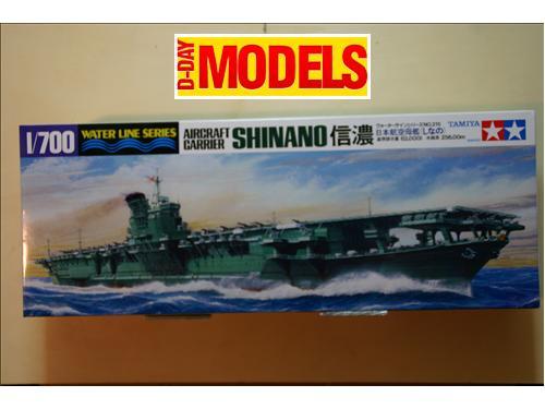 Shinano Aircraft carrier  - modelli Tamiya