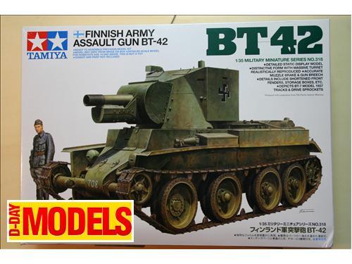 Finnish army assault gun BT-42- modelli Tamiya kit 1/35