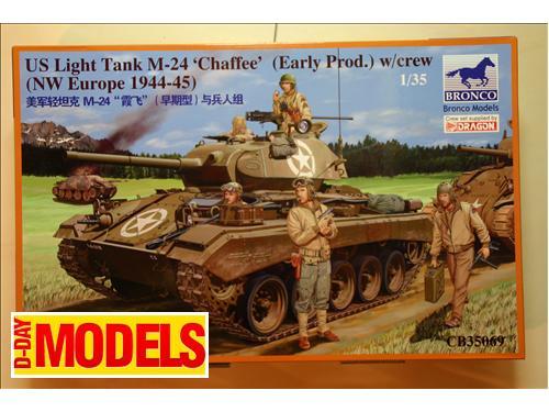 US Lighr Tank M-24