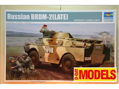 Russian BRDM-2(LATE) - kit montaggio carri Trumpeter 1/35