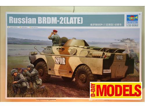 Russian BRDM-2(LATE) - art. 05512 Trumpeter 1/35