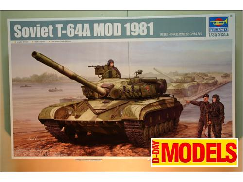 Soviet T-64A MOD 1981 - Kit montaggio carri Trumpeter 1/35
