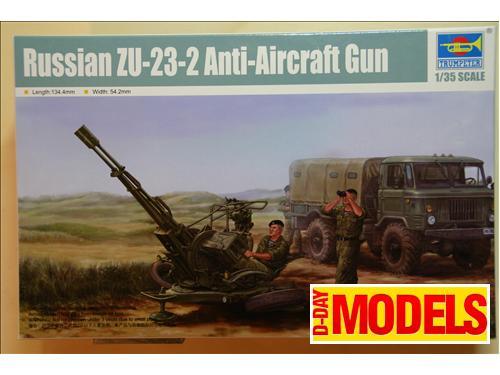 Russian ZU-23-2 Anti-Aircraft Gun - kit montaggio Trumpeter 1/35