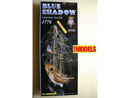 Blue Shadow, united states navy brig 1778 - MV 22 - modelli Mamoli