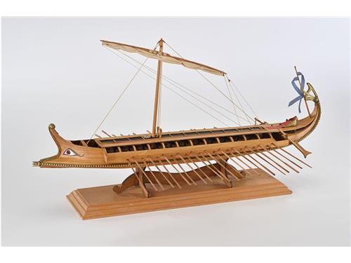 Bireme - nave greca del 480 A.C. - art. 1404 - Amati 1/35