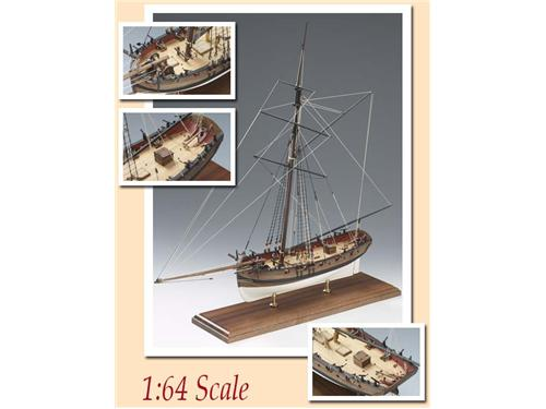 Nave Lady Nelson - art.1300/01 - Amati navi in legno