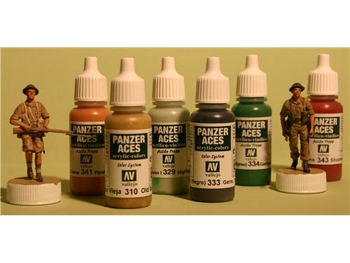 70301 Vallejo Panzer Aces - light rust